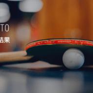 【京都卓球協会】 2019年度 第2回社会人リーグ チャレンジリーグ競技記録